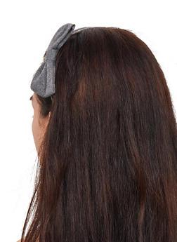 Set of 2 Bow Head Wraps - 3131067257722