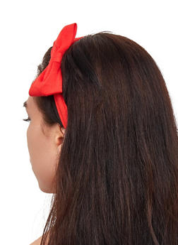 Set of 2 Bow Headwraps - 3131067257722