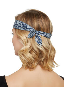 Paisley Print Headband Trio - 3131074172203