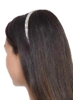Rhinestone Studded Headband - 3131074172714