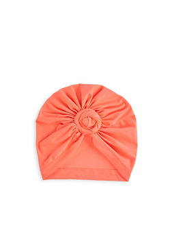 Knot Front Neon Turban Head Wrap - 3131074174413