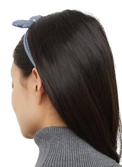 Glitter Bow Head Wrap - 3131074175124
