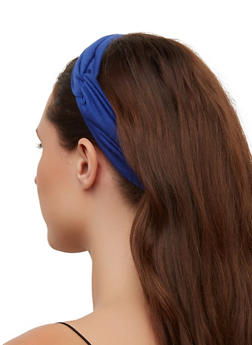 Knot Front Wide Head Wrap - 3131074175913