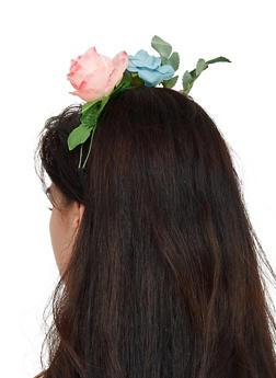 Elastic Flower Crown Headband - 3131074178172
