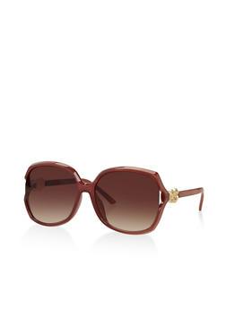 Square Open Side Sunglasses - 3133004261305