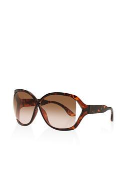 Criss Cross Open Side Sunglasses - 3133004265006