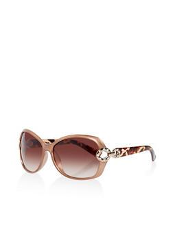 Link Detail Plastic Sunglasses - 3133004265365