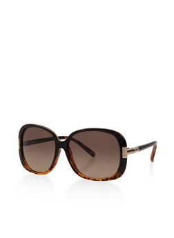 Plastic Square Sunglasses - 3133004265582