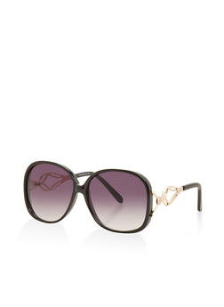 Metallic Detail Sunglasses - 3133004269189