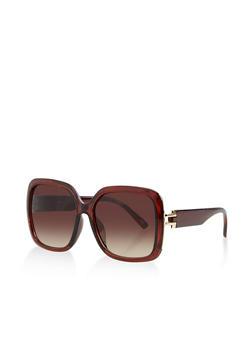Square Plastic Sunglasses | 3133056171691 - 3133056171691