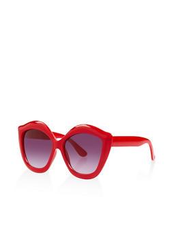 Plastic Lips Sunglasses - 3133056174997