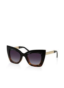 Metallic Arm Cat Eye Sunglasses | 3133056177456 - 3133056177456