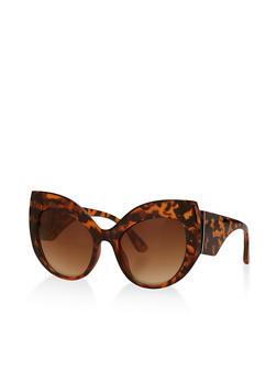 Thick Frame Cat Eye Sunglasses   3133071210130 - 3133071210130