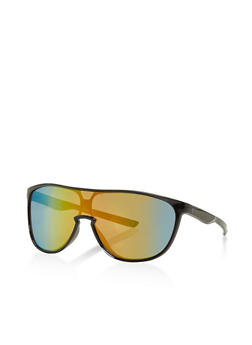 Plastic Shield Sunglasses - 3133071219882