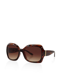 Large Square Sunglasses - 3133071221332
