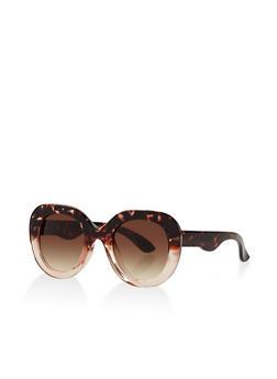 Thick Plastic Sunglasses - 3133071222572