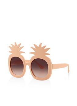 Plastic Pineapple Sunglasses - 3133071223811