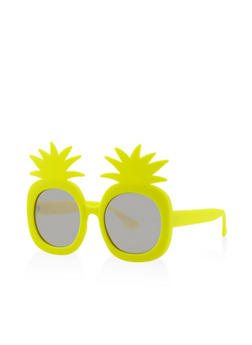 Plastic Pineapple Sunglasses - 3133071223811
