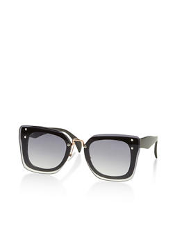 Square Double Frame Sunglasses - 3133073212027