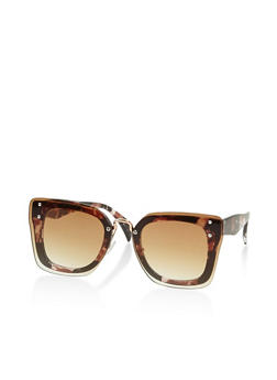 Square Double Frame Sunglasses - 3133073212027