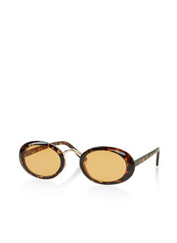 Small Oval Sunglasses - 3133073212226