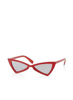 Plastic Bow Tie Sunglasses - 3133073212230
