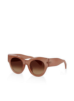 Round Cat Eye Sunglasses - 3133073212428