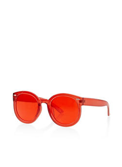Plastic Colored Sunglasses - 3133073214558