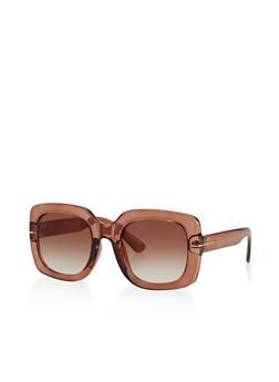 Square Plastic Sunglasses | 3133073216740 - 3133073216740