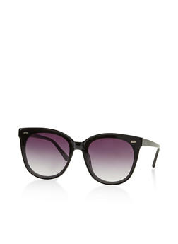 Round Cat Eye Sunglasses - 3133073219127
