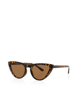 Skinny Cat Eye Sunglasses - 3133073927090