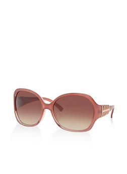 Metallic Detail Sunglasses - 3134004264799