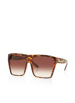 Oversized Square Sunglasses - 3134004265121