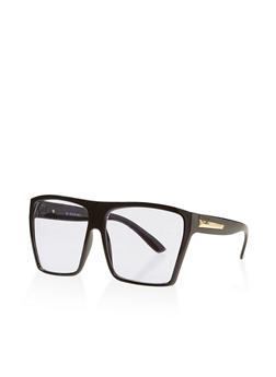 Oversized Square Sunglasses - 3134004265121