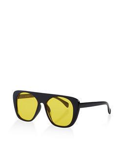 Colored Lens Plastic Sunglasses - 3134004265256