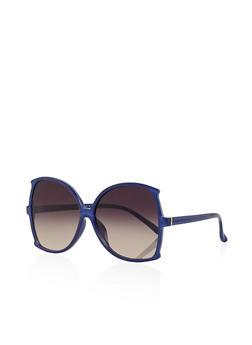Oversized Plastic Sunglasses - 3134004265489