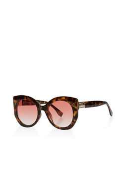 Oversized Round Sunglasses - 3134004265568