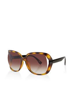 Open Side Plastic Sunglasses | 3134056179174 - 3134056179174