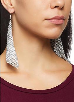 Rhinestone Kite Earrings - 3135062920279