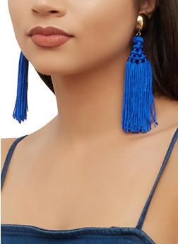 Multi Tassel Earrings - 3135062924217