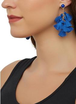 Tassel Drop Earrings - 3135071211033