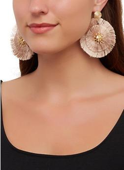 Circular Fringe Earrings - 3135071212370