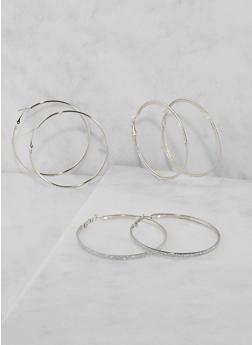 Hoop Earring Trio - 3135071431203