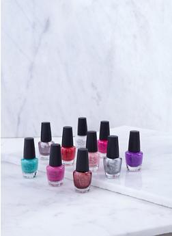 10 Piece Nail Polish Collection - 3136074660800