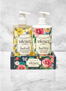 Vintage Hand Wash and Lotion Set - 3136075609610