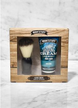 Shaving Cream and Brush Set - 3136075609717