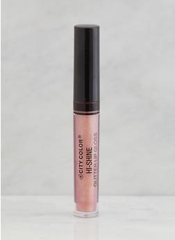 High Shine Glitter Lip Gloss - PEACH - 3137070550055