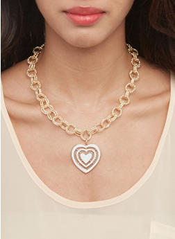 Glitter Necklaces with Bracelets and Earrings - 3138062927093
