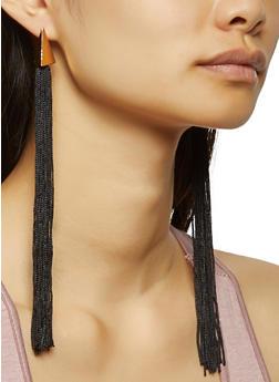 Long Tassel Earrings - 3138071214008