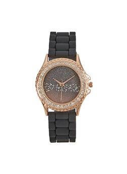 Ombre Glitter Face Watch - 3140048995959